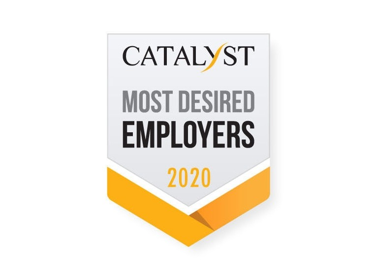 Catalyst Most Desired Employers 2020